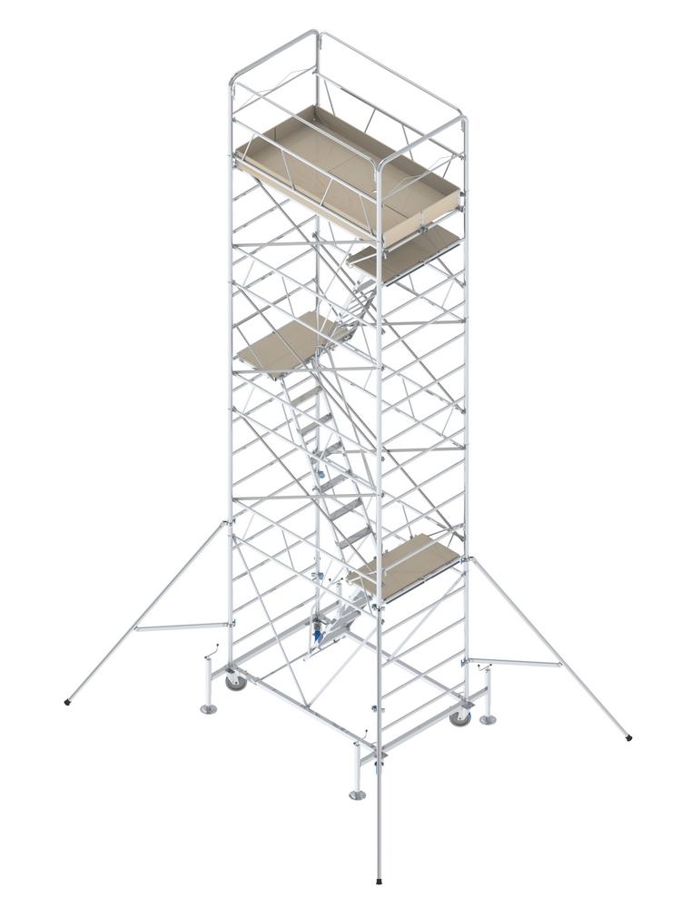 TORRE MOBILE Z2 VERSIONE A • Pianerottoli e scale